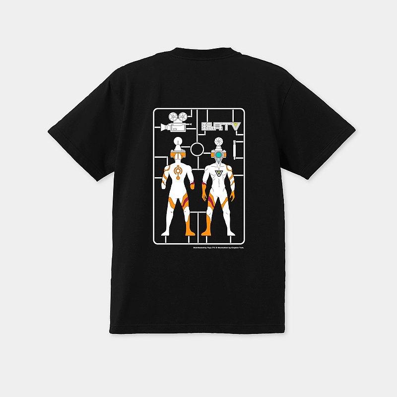 Toys TV x Clapton /香港設計師 原創中性T恤