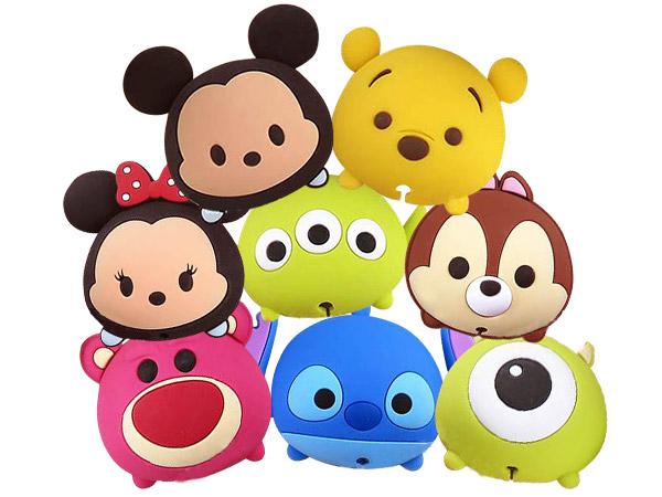 Disney 迪士尼  TSUM TSUM~手機立架+捲線器(1入) 多款可選【D291470】
