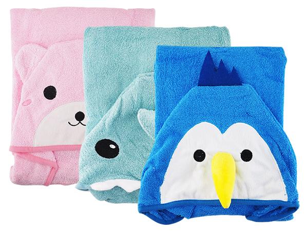 兒童造型浴巾(1入) 款式可選【D021765】
