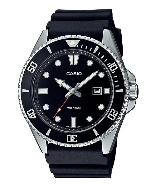 CASIO 卡西歐 槍魚 200米潛水錶 MDV-107-1A1 黑水鬼