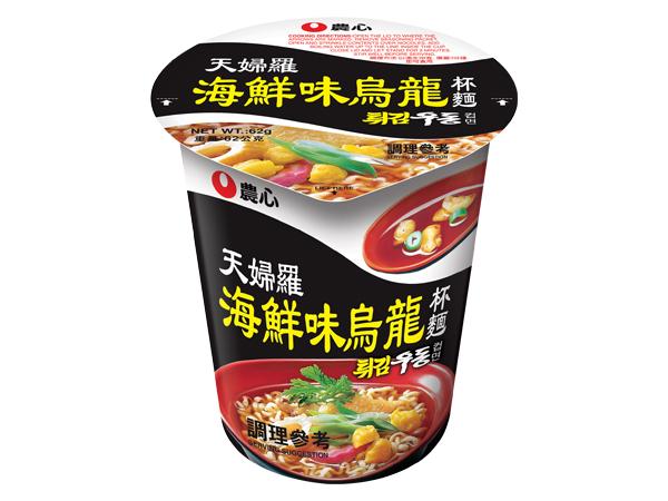 韓國 農心~天婦羅海鮮味烏龍杯麵(62g)【D263752】進口/泡麵/團購