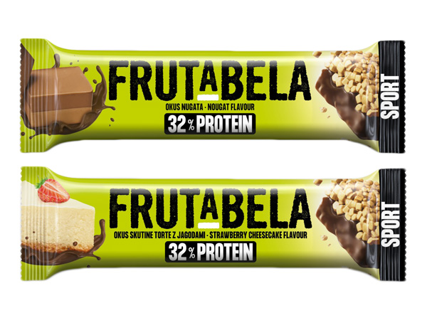 Frutabela~巧克力牛軋糖風味/草莓起司蛋糕風味 營養棒(40g) 款式可選【D037983】
