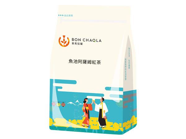 台灣茶人~阿薩姆紅茶-魚池風味3角立體茶包(18包入)【D483137】