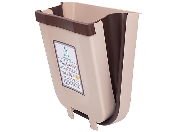 可折疊掛式垃圾桶(1入) 顏色隨機出貨【D021486】