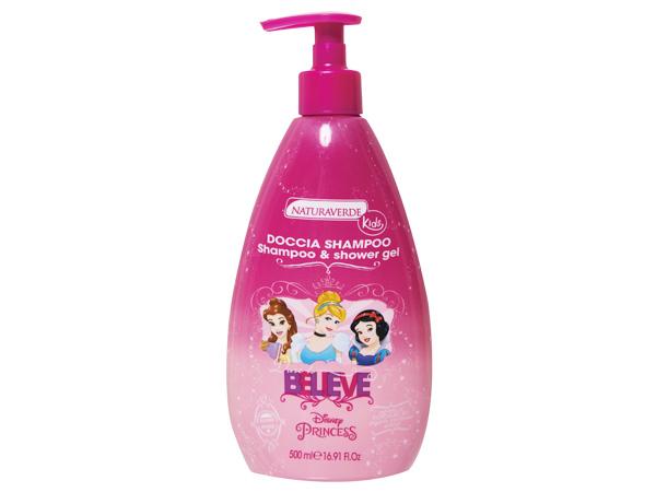 自然之綠~迪士尼公主2合1洗髮沐浴雙效露(500ml)【D115825】