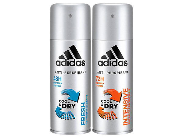 Adidas 愛迪達~男用長效制汗爽身噴霧(150ml) 款式可選【D687458】