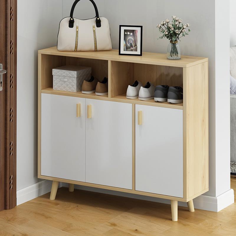 鞋柜家用門口大容量門廳玄關柜收納儲物柜簡易經濟型進門防塵鞋架