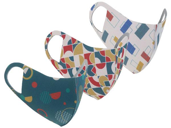 Prodigy 波特鉅~舒適美3D透氣防曬抗菌口罩(3入組)期間限定款 款式可選【D886545】花色成人口罩