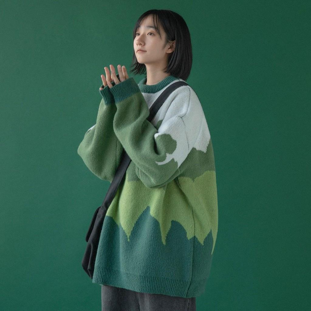 新品毛衣女寬松外穿學生ins森系2020新款秋冬套頭慵懶風圓領上衣