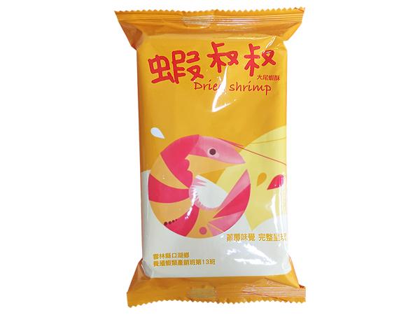 蝦叔叔大尾蝦酥(單包25g)【D313519】