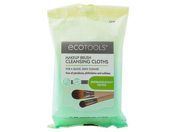 EcoTools~刷具清潔濕巾(1310)25抽【D013108】