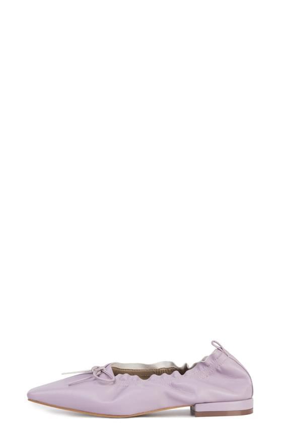 韓國空運 - Rina shirring ribbon flat shoes 平底鞋