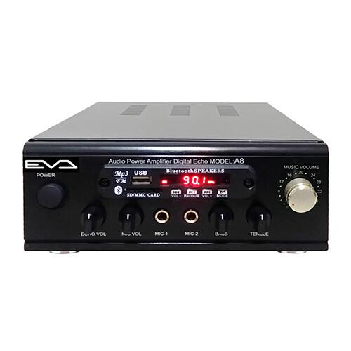 eva 300w超大功率藍牙/usb/fm/sd/mp3/卡拉ok迷你擴大機