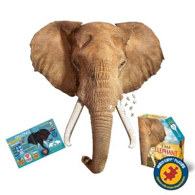 【Madd Capp】I AM 拼圖, 我是大象, 700 系列 | 極限逼真動物、驚嘆大尺寸、難度等同1000片