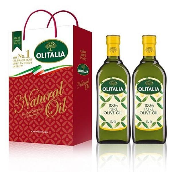 【南紡購物中心】Olitalia奧利塔-橄欖油禮盒組 (2罐/組) 2組