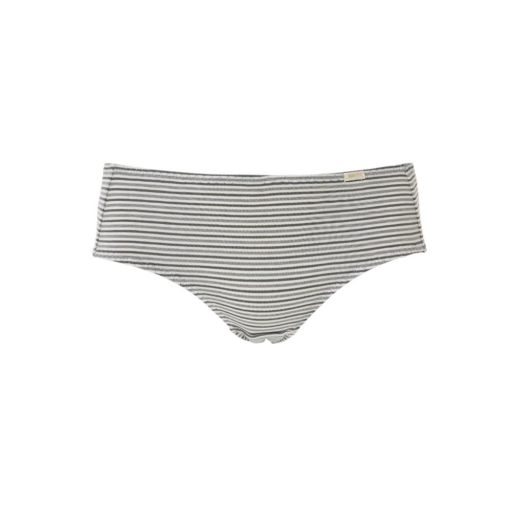 【新品優惠中】黛安芬-eco chic裸紗原棉竹炭系列生理褲 M-EL 條紋 F768120 Z9
