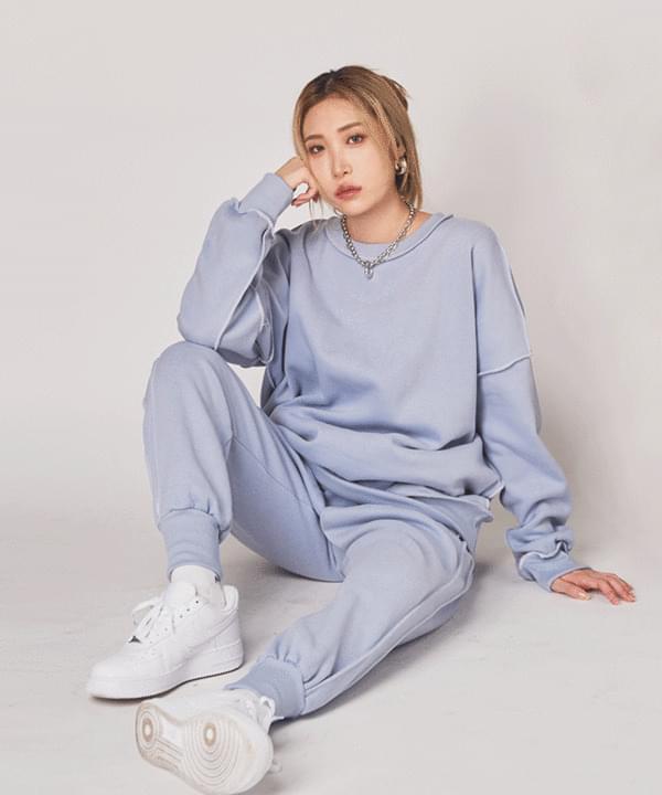 韓國空運 - Oh Jelly ppingjul Buffett Fleece-lined Sweatshirt 長袖上衣