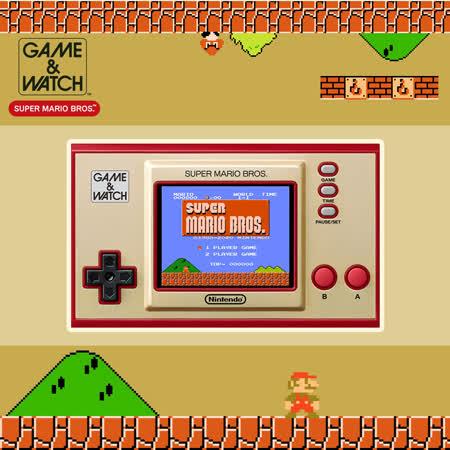 【Nintendo】任天堂 Game & Watch 超級瑪利歐兄弟 攜帶型遊戲機《35周年跨界聯名紀念款》