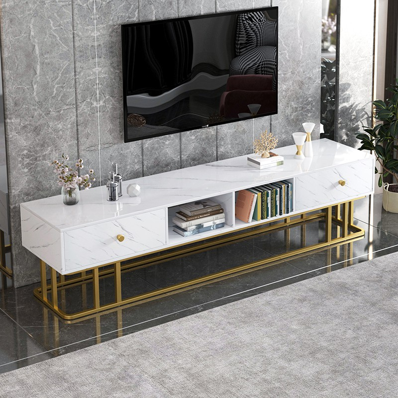 ❤全新出货❤電視柜現代簡約家具組合小戶經濟型電視機柜茶幾輕奢后現代電視柜