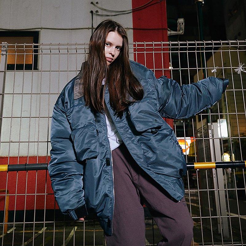 MOKACME  錦綸防潑水多袋工裝MA1夾克