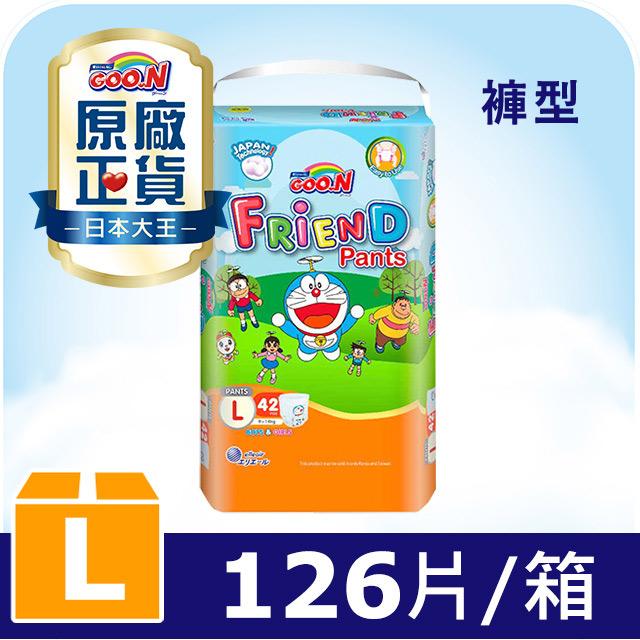 GOO.N大王 樂樂褲-褲型L (42片x3包)