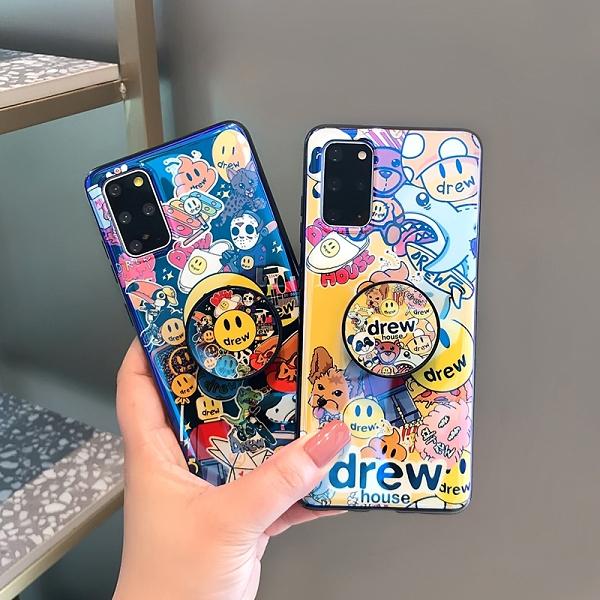 藍光軟殼三星S21保護殼 個性時尚Galaxy S21+保護套 創意卡通三星S21 Ultra手機殼 日韓SamSung S21手機套