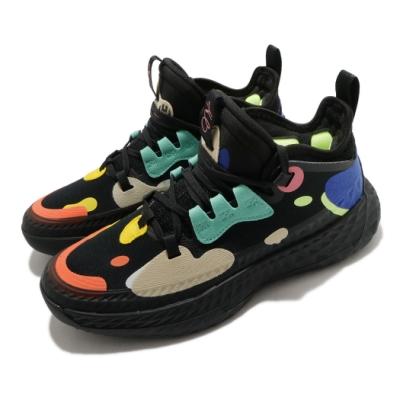 adidas 籃球鞋 Harden Vol 5 運動 女鞋 愛迪達 哈登 大鬍子 NBA球星 黑 彩 FX8666