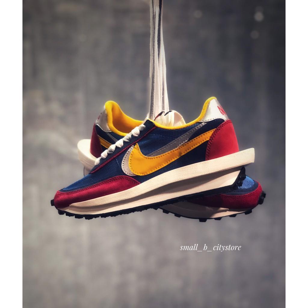 全新正品Sacai x Nike LDWaffle 紅 BV0073-400