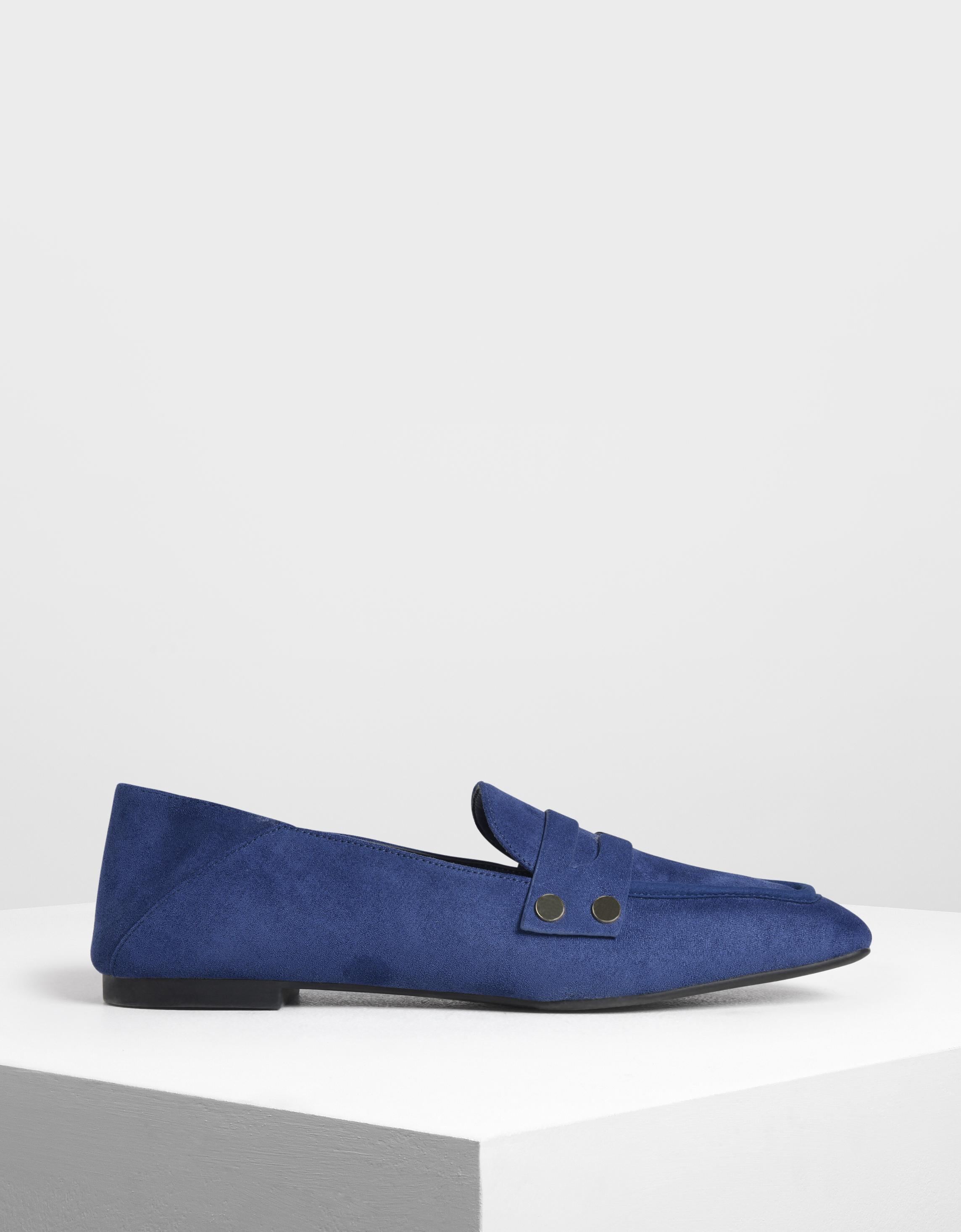 圖釘裝飾樂福鞋