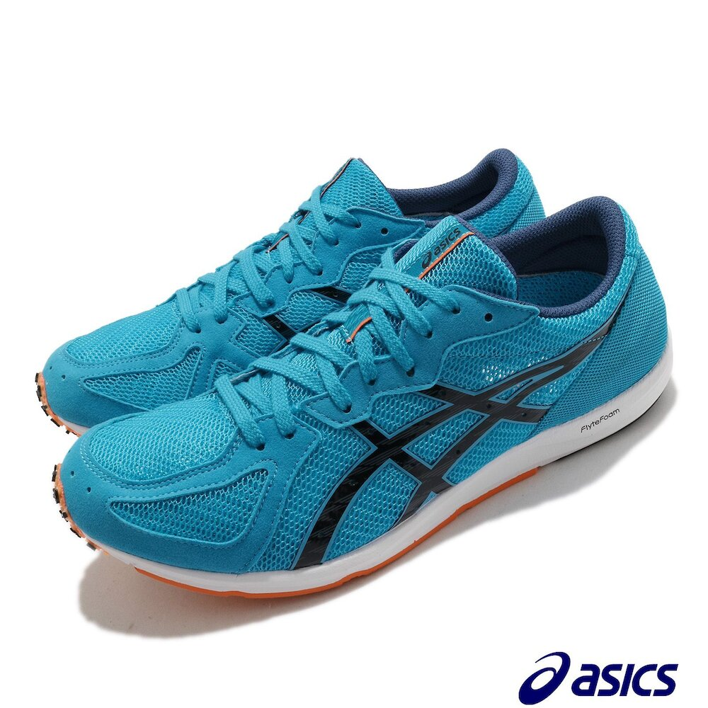 ASICS 慢跑鞋 Sortiemagic LT 2 男鞋 亞瑟士 寬楦 競速鞋 馬拉松鞋 輕量 避震 藍黑 [1093A093402]