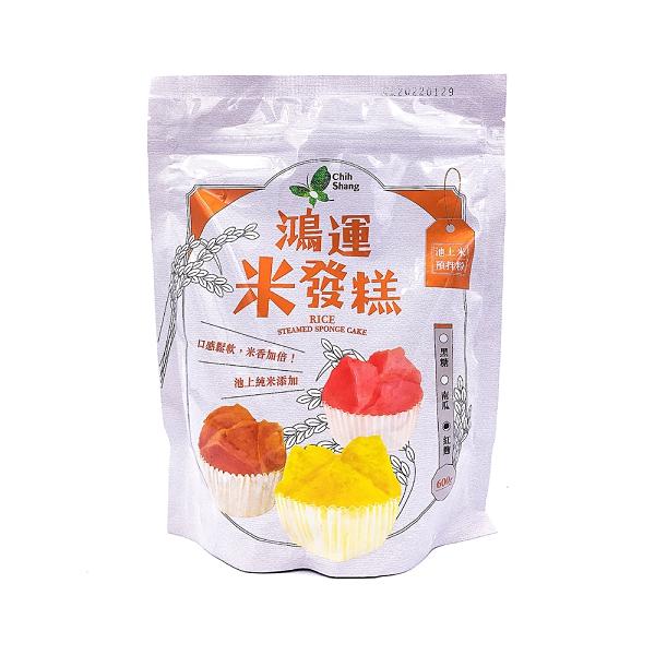 【池上鄉農會】池上米預拌粉-鴻運米發糕-紅麴口味 600公克/包