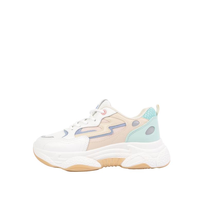 HS 閃電粉藍球鞋 拼色藍