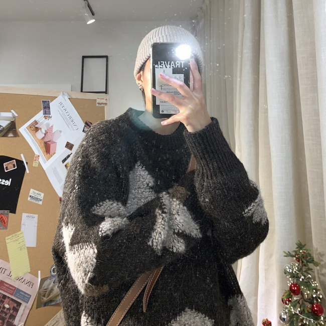 FOFU-ManStyle針織衫外套韓版潮流個性耶誕節毛衣寬鬆慵懶線衣【08SB00036】
