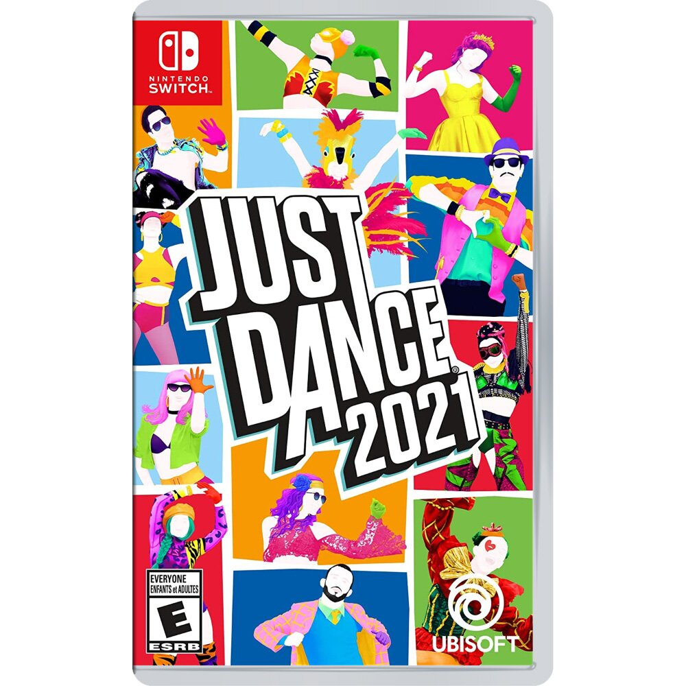 Switch Just Dance 舞力全開 2021 (中文版)+防丟防掉有氧拳擊手環握把(副廠)