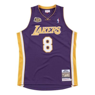 M&N Authentic球員版復古球衣 湖人隊 00-01 #8 Kobe Bryant