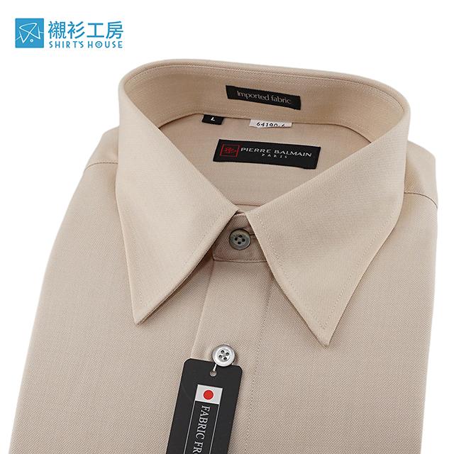 皮爾帕門pb米色素面、保暖厚料、寬鬆版下擺齊支可當襯衫外套64190-06-襯衫工房