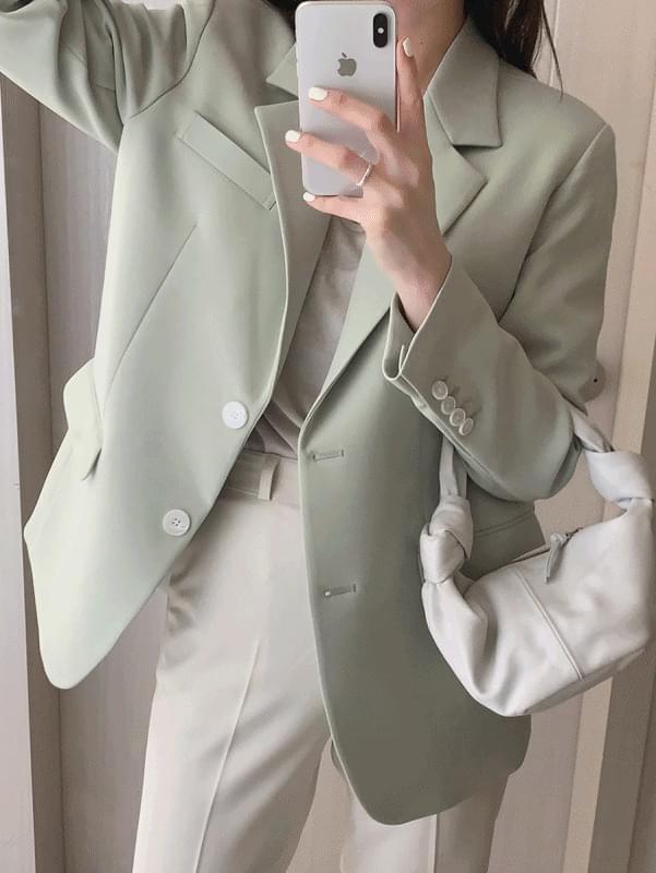 韓國空運 - Formal Boxy Fit Jacket 夾克