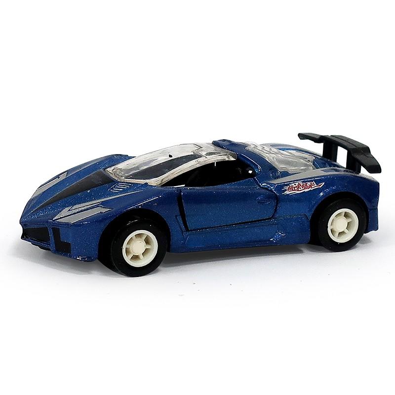 【樂彩森林】 迷你合金小車-170#極速賽車(藍)