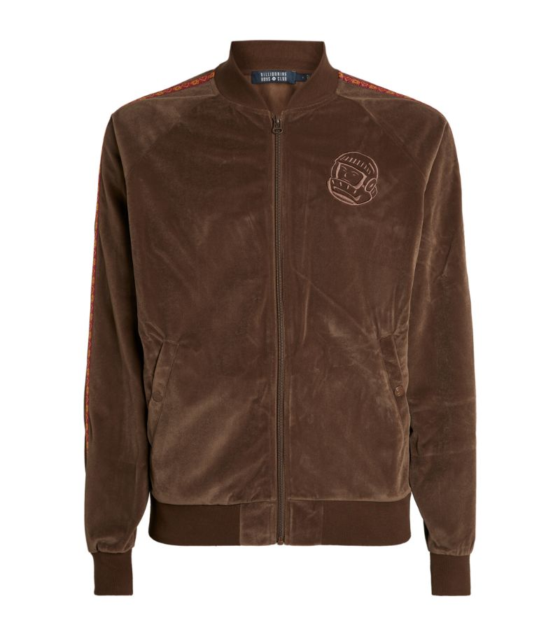 Billionaire Boys Club Velour Heart & Amp, Mind Astro Zipped Sweatshirt
