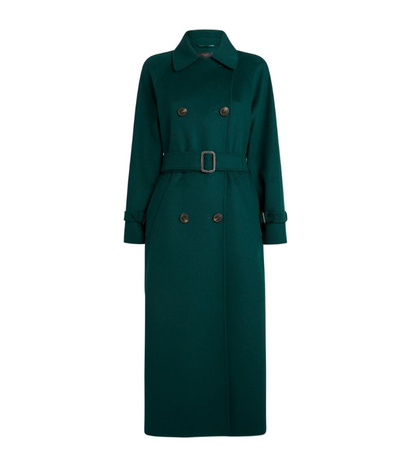 Weekend Max Mara Wool-Blend Trench Coat