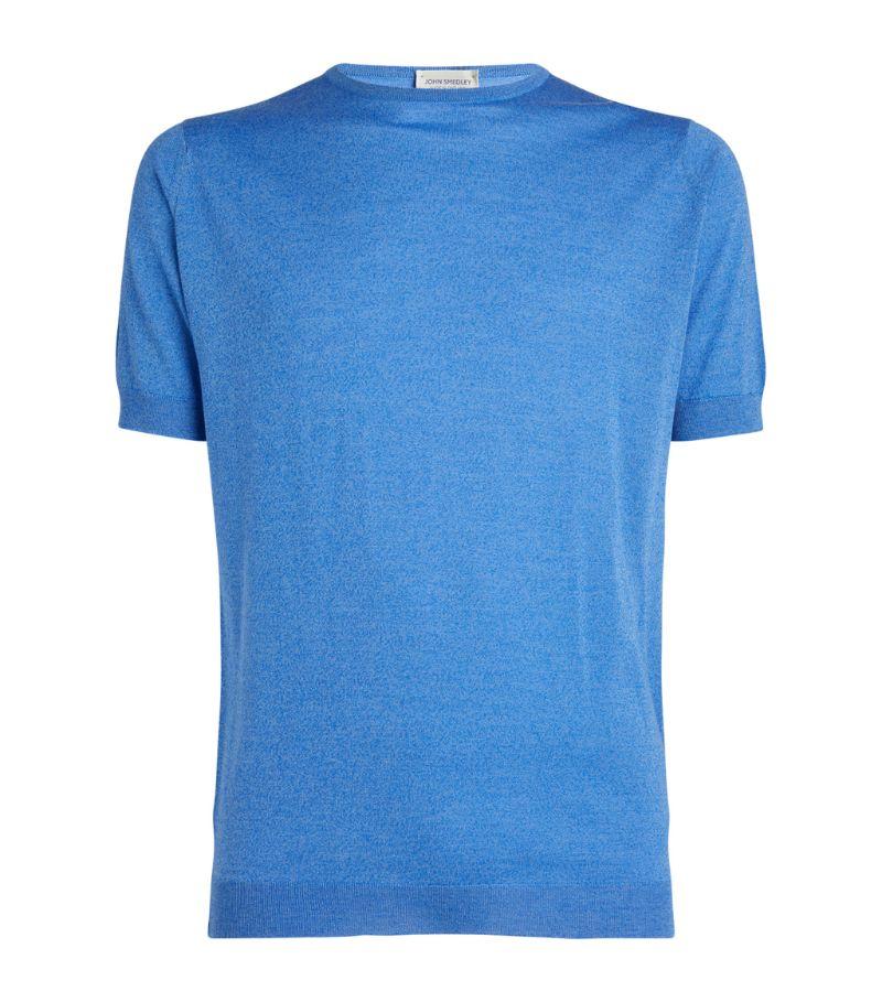 John Smedley Belden Wool-Cotton T-Shirt