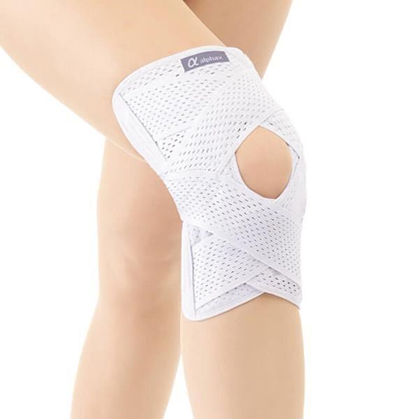 【南紡購物中心】【Alphax】日本製 醫護膝蓋支撐固定帶 一入(大尺寸)