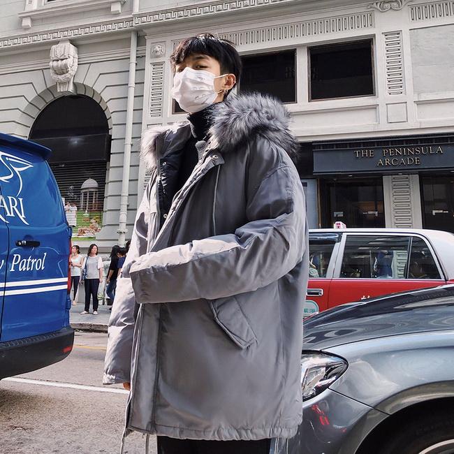 FOFU-鋪棉外套可拆卸毛領寬鬆鋪棉外套【08SB00178】