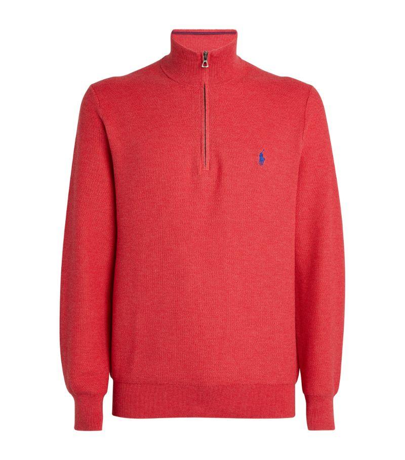 Polo Ralph Lauren Polo Pony Half-Zip Sweater