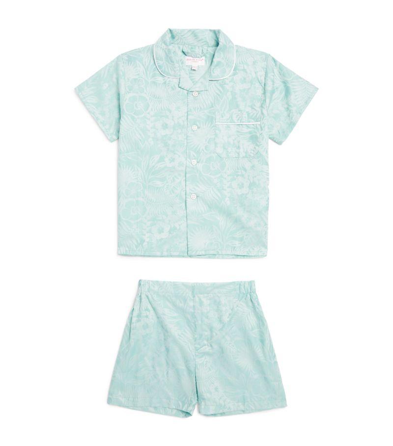 Derek Rose Kids Tropical Print Pyjama Set (3-16 Years)
