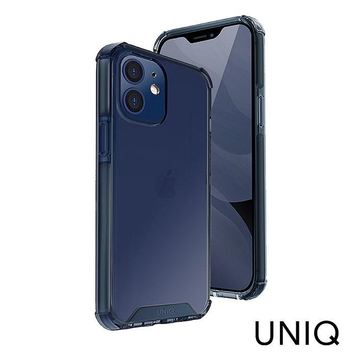 UNIQ  iPhone 12/ 12 Pro Combat四角強化軍規防摔三料手機殼-藍色