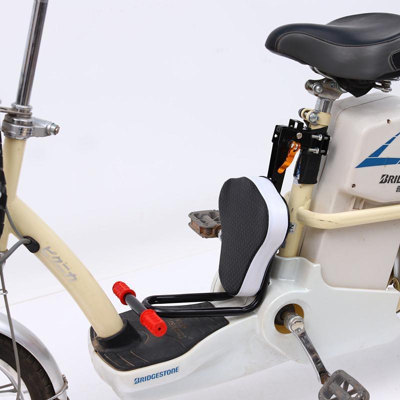 電動車前置快拆可折疊兒童座椅自行車山地車前置小孩寶寶安全座椅