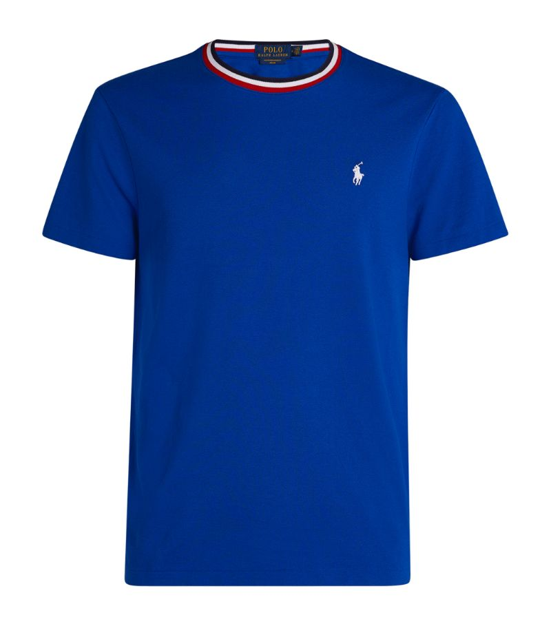 Polo Ralph Lauren Cotton Mesh Polo Pony T-Shirt
