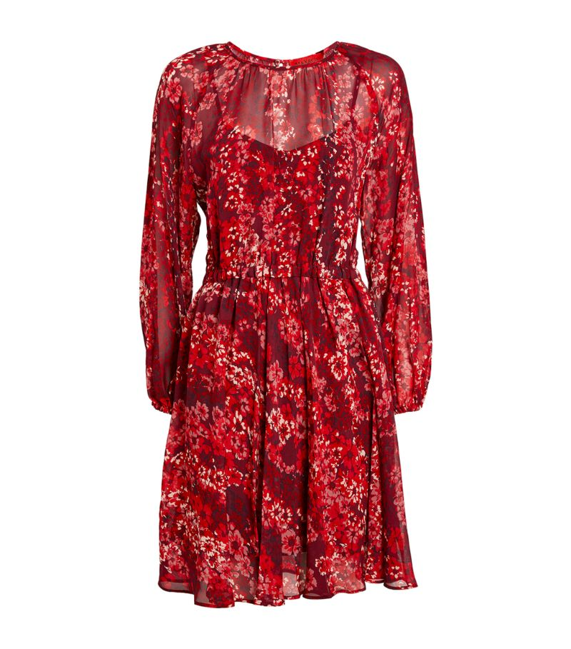 Max & Co Floral Print Mini Dress