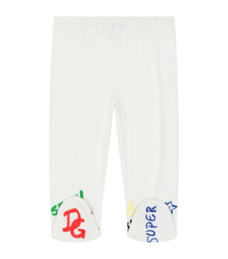 Dolce & Gabbana Kids Logo Embroidered Sweatpants (0-30 Months)